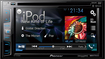 Pioneer - CD/DVD - Built-In Bluetooth - Built-In HD Radio - In-Dash Receiver - Multi
