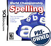 World Championship Spelling - Pre-owned - Nintendo Ds