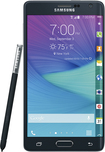 Samsung - Galaxy Note Edge with 32GB Memory Cell Phone - Charcoal Black (Verizon Wireless)