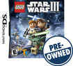 LEGO Star Wars III: The Clone Wars — PRE-OWNED - Nintendo DS