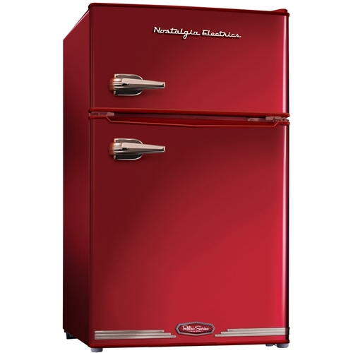 Nostalgia Electrics - Retro Series 3.1 Cu. Ft. Compact Refrigerator - Red