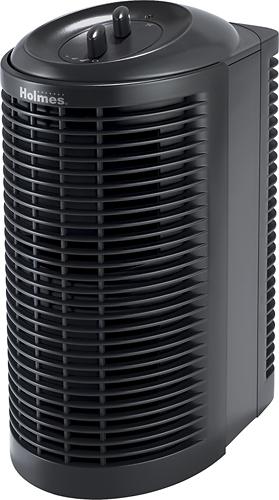 Holmes - Mini Tower Air Purifier - Black