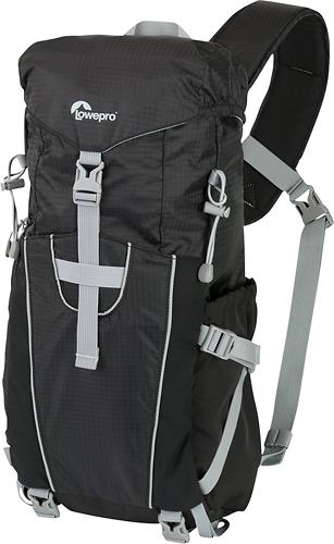 Lowepro - Photo Sport Sling 100AW Camera Backpack - Black/Light Gray