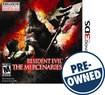 Resident Evil: The Mercenaries 3D — PRE-OWNED - Nintendo 3DS