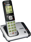 VTech - CS6419 DECT 6.0 Expandable Cordless Phone System - Silver