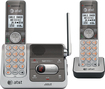 AT&T - DECT 6.0 Expandable Cordless Phone System with Digital Answering Machine - Gray