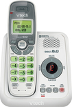 VTech - DECT 6.0 Cordless Phone with Digital Answering System - White/Gray