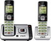 VTech - DECT 6.0 Expandable Cordless Phone System with Digital Answering System - Silver/Black