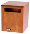 The Original SUNHEAT - Portable Infrared Heater - Golden Oak