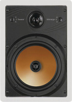 """BIC America - Acoustech Series 8"""" 3-Way In-Wall Speakers (Pair) - White"""