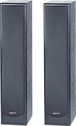 """BIC America - 6-1/2"""" Floor Speaker (Each) - Black"""