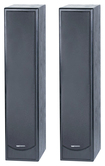"BIC America - 8"" Tower Speaker (Each) - Black"