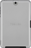 "Toshiba - Back Cover for 10"" Toshiba Tablets - Silver Sky"