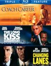 Coach Carter/the Long Kiss Goodnight/changing Lanes [3 Discs] [blu-ray] 2750825