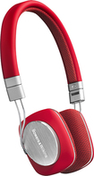 Bowers and Wilkins - P3 On-Ear Headphones - Red