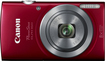 Canon - PowerShot ELPH 160 20.0-Megapixel Digital Camera - Red