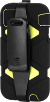 Griffin Technology - Survivor Case for Apple® iPhone® 5c - Black/Green