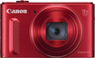 Canon - PowerShot SX610 HS 20.2-Megapixel Digital Camera - Red