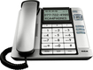 RCA - Corded Speakerphone with Call-Waiting Caller ID - Silver