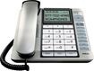 RCA - Corded Telephone with Digital Answering System - Silver