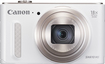 Canon - PowerShot SX610 HS 20.2-Megapixel Digital Camera - White