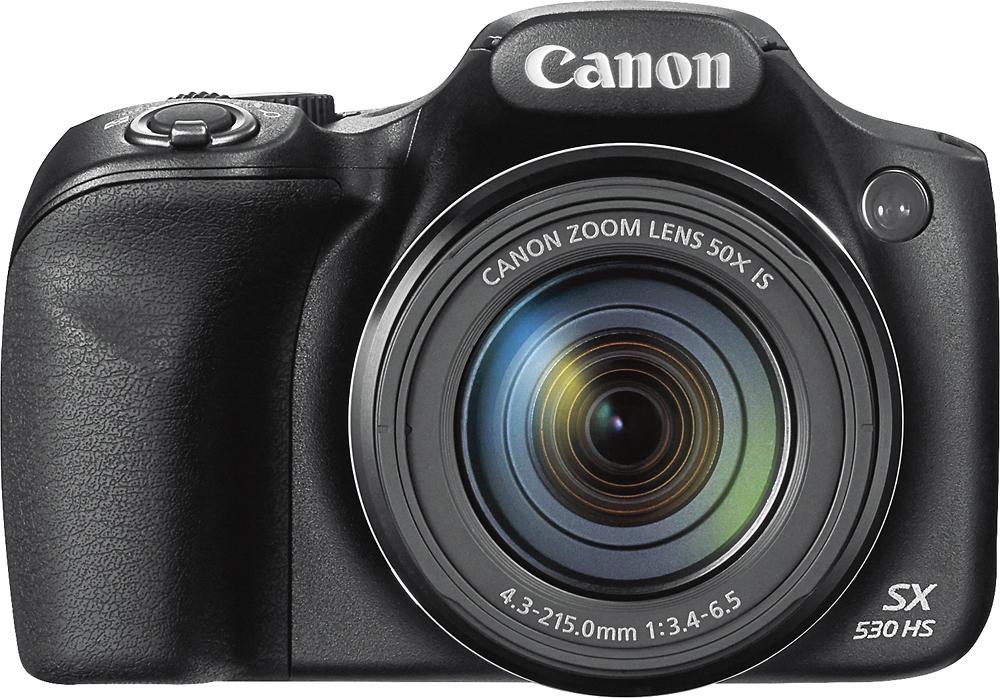 Canon - PowerShot SX530 HS Digital Camera - Black