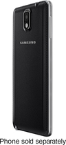 Samsung - Wireless Charging Cover for Samsung Galaxy Note 3 Cell Phones - Black