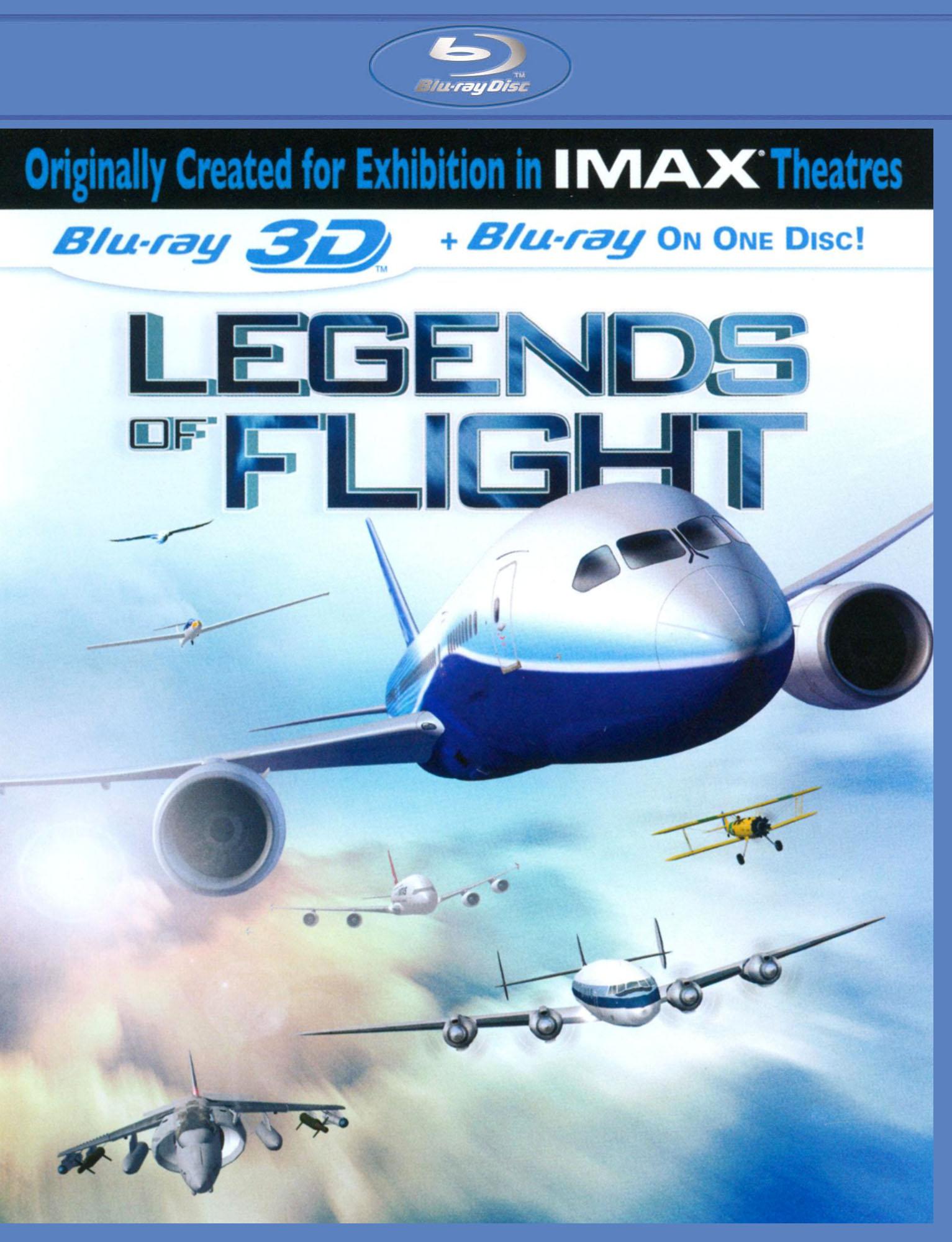 Legends Of Flight [3d] [blu-ray] [eng/fre/spa] [2010] 2762398