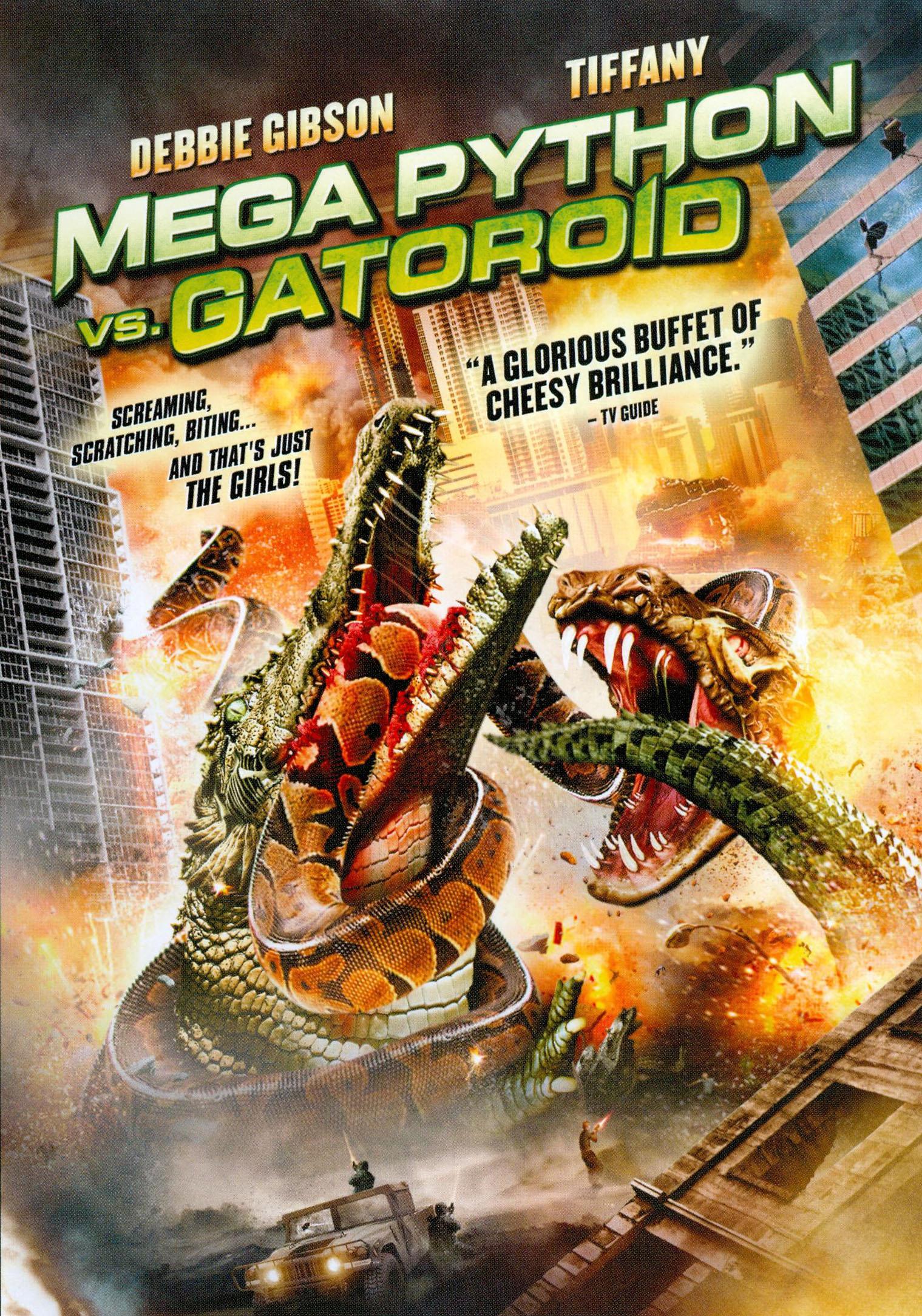 Mega Python Vs. Gatoroid (dvd) 2762412