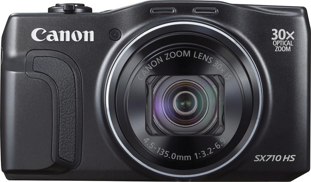 Canon - PowerShot SX710 HS 20.3-Megapixel Digital Camera - Black