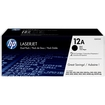 HP - 12A 2-Pack High-Yield Ink Cartridges - Black
