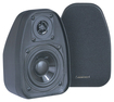 "BIC America - 3-1/2"" 2-Way Bookshelf Speakers (Pair) - Black"