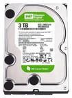 WD - Green 3TB Internal Serial ATA Hard Drive for Desktops (OEM/Bare Drive) - Black