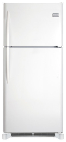 Frigidaire - Gallery 20.5 Cu. Ft. Top-Freezer Refrigerator - Pearl