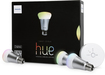 Philips - hue A-19 Starter Kit - White/Silver