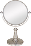 Zadro - 2-Sided Swivel Vanity Mirror - Silver