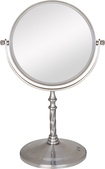 Zadro - 2-Sided Swivel Vanity Mirror - Silver