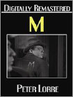 M (DVD) (Remastered) 1931