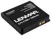 Lenmar - Lithium-Ion Battery for HTC Magic G2 and myTouch 3G Mobile Phones - Black