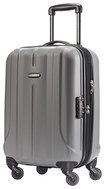 """Samsonite - Fiero 20"""" Expandable Spinner Luggage - Charcoal"""