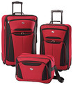 American Tourister - Fieldbrook II Luggage Set (3-Piece) - Red