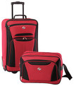 American Tourister - Fieldbrook II Luggage Set (2-Piece) - Red