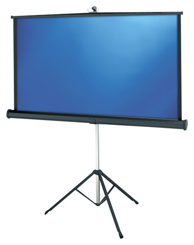 "Projecta - Versatol 77"" Tripod Projector Screen - Matte White"