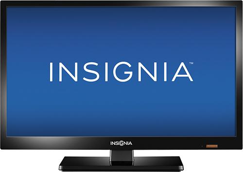 "Insignia™ - 19"" Class (18-1/2"" Diag.) - LED - 720p - HDTV - Black"