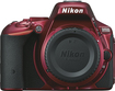 Nikon - D5500 DSLR Camera (Body Only) - Red