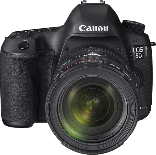 Canon - EOS 5D Mark III Dslr Camera with 24-70mm f/4L IS Lens - Black
