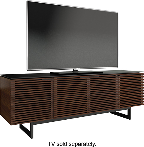BDI - Corridor A/V Cabinet for Most Flat-Panel TVs Up to 85 - Walnut