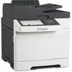 Lexmark - Laser Multifunction Printer - Color - Plain Paper Print - Desktop - Gray, White