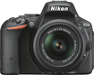 Nikon - D5500 DSLR Camera with AF-S DX NIKKOR 18-55mm f/3.5-5.6G VR II Lens - Black