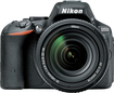 Nikon - D5500 DSLR Camera with AF-S DX NIKKOR 18-140mm f/3.5-5.6G ED VR Lens - Black